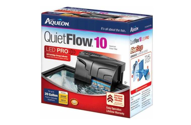Aqueon QuietFlow 10 Power Filter