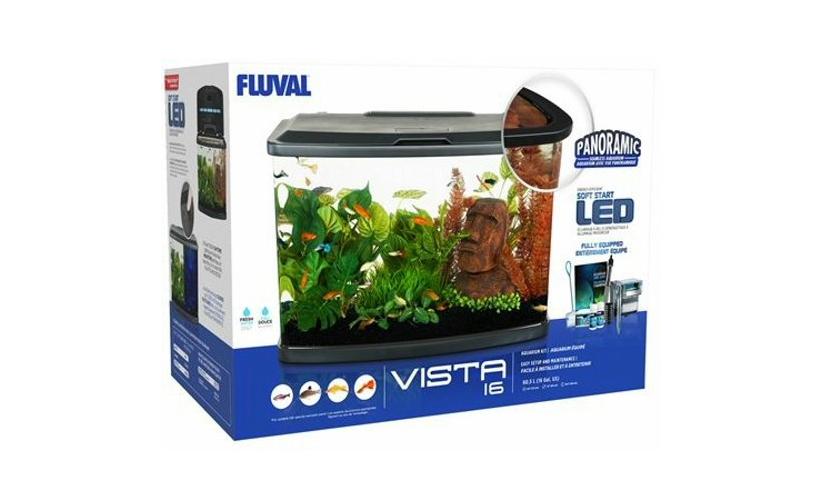 Fluval Vista 16 Gallon LED Aquarium
