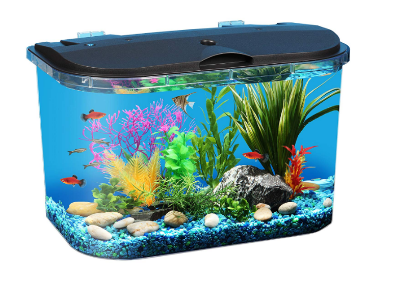 Koller Products Panaview 5 Gallon Aquarium