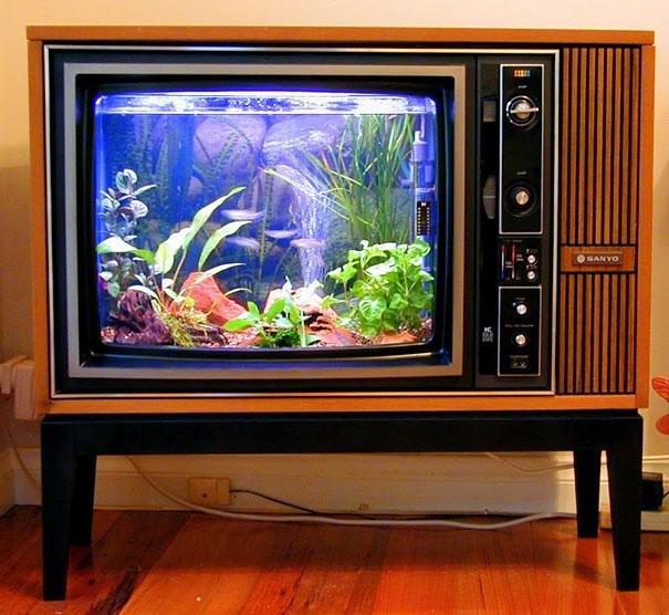 Old-TV-Aquarium