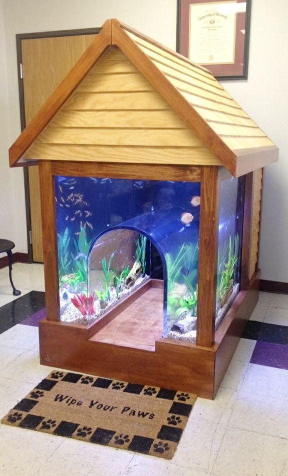 dog-house-aquarium