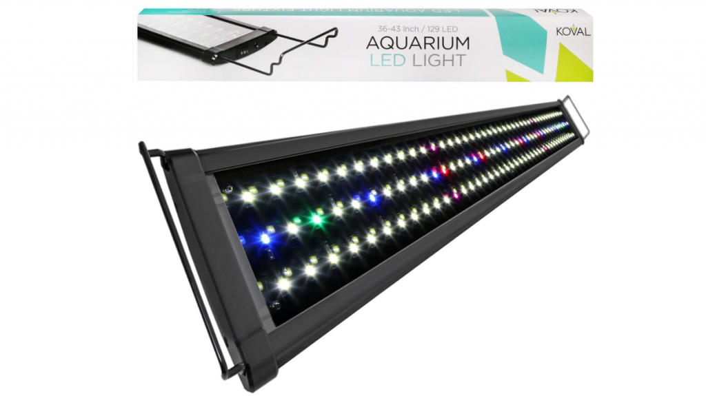 Koval Fish Tank LED Light Hood with Extendable Brackets