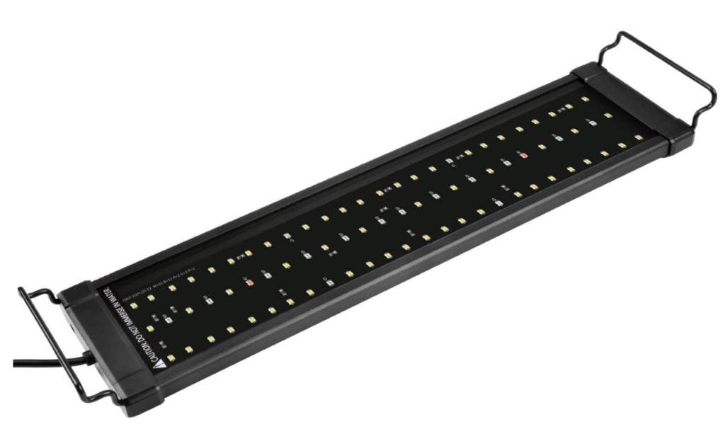 Nicrew LED aquarium light for fresh and saltwater tank