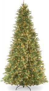 "National Tree 12 Foot ""Feel Real"" Tiffany Fir Slim Tree"